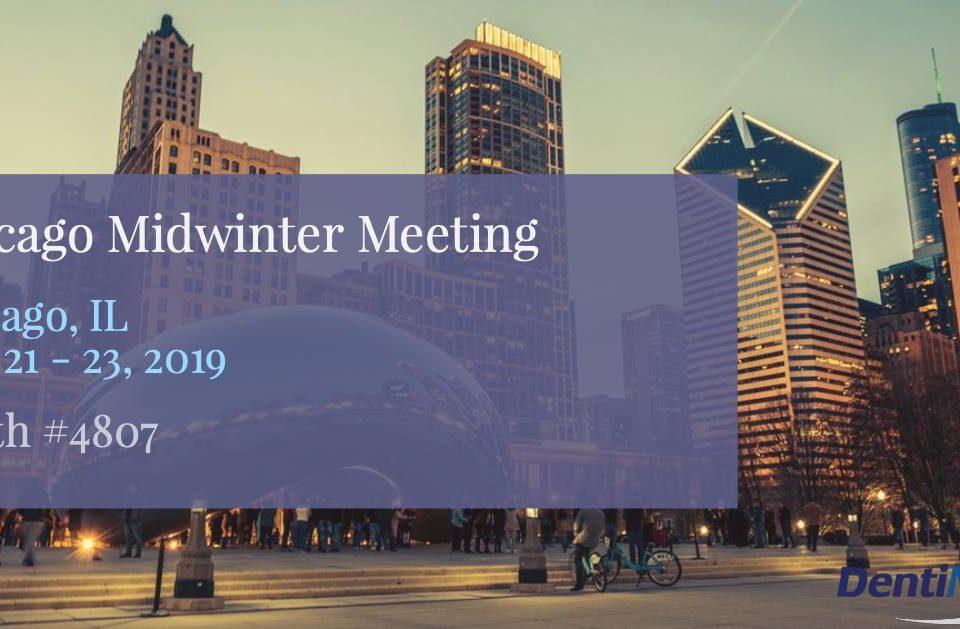 Chicago Midwinter 2019 DentiMax Banner
